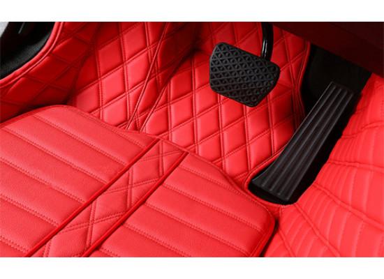 Ковры люкс для Mitsubishi Outlander 1 2002-2008