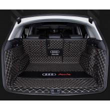 Кожаная обивка багажника для Audi Q5 2008-н.в.