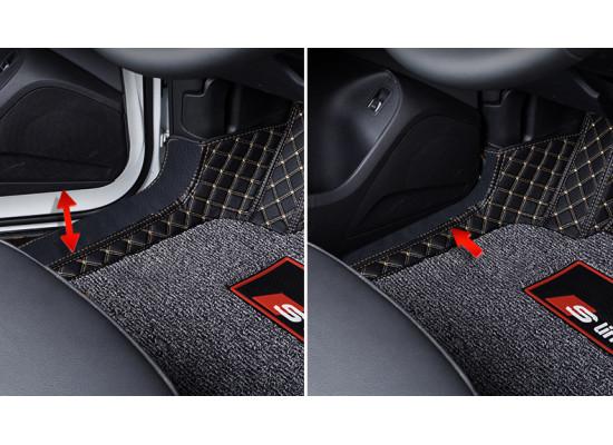 Кожаные коврики для Audi Q5 2017-н.в