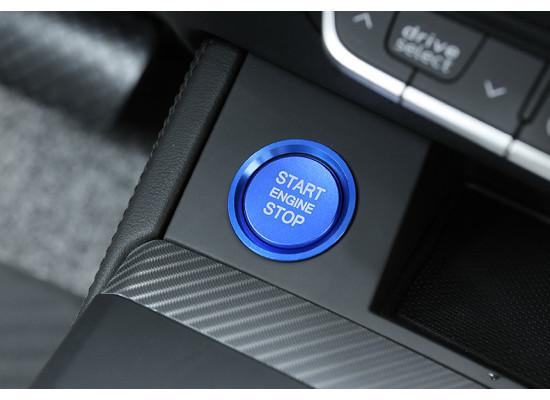 Накладки на кнопку запуска двигателя для Audi Q5 1 Рестайлинг 2012-17 и 2 2017-19