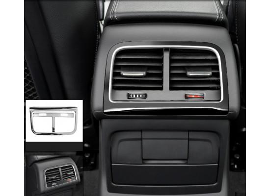 Накладки на задний воздуходув и пепельницу для Audi Q5 1 Рестайлинг 2012-17
