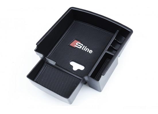 Ящик для мелочи в подлокотник для Audi Q5 1 Рестайлинг 2012-17