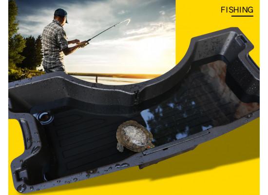 Ящик в багажник в отсек с запасным колесом для Audi Q5 1 Рестайлинг 2012-17