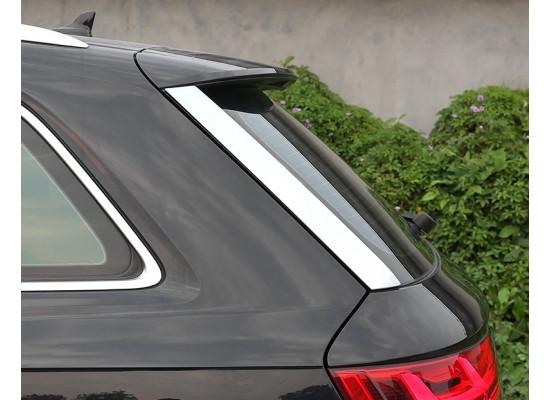 Хромированные накладки на заднее стекло для Audi Q7 2 2015-н.в.