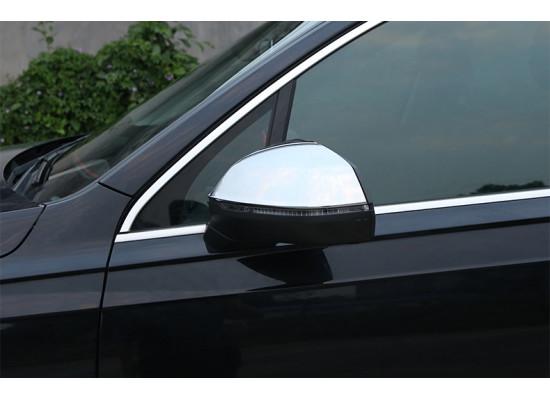 Хромированные накладки на зеркала для Audi Q7 2 2015-н.в.