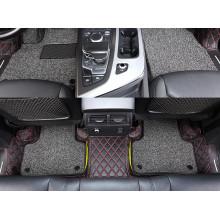 Кожаные коврики для Audi Q7 2 на 5 мест 2015-н.в