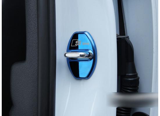 Накладки на фиксаторы замков для Audi Q7