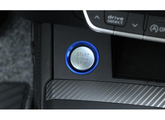 Накладки на кнопку запуска двигателя для Audi Q7 2 2015-н.в.