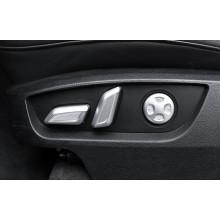 Накладки на панели настройки сиденьями для сетки для Audi Q7 2 2015-н.в.