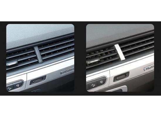 Поперечные накладки на воздуховоды для Audi Q7 2 2015-н.в.