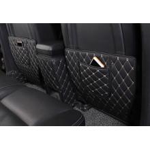 Кожаные защитные накладки на спинки передних сидений для Chevrolet Captiva Рестайлинг и Рестайлинг 2 2011-2016 (фото)