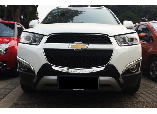 Обвес для Chevrolet Captiva Рестайлинг 2011-13 (фото)