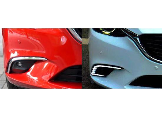 ДХО для Mazda 6 Рестайлинг 2015-18. Вариант 2