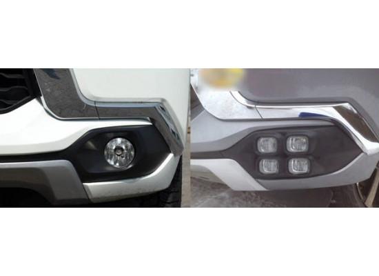 ПТФ для Mitsubishi Pajero Sport 2015-н.в.