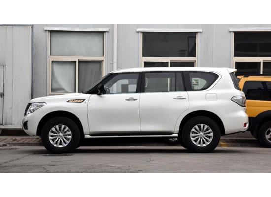 ДХО для Nissan Patrol 6 Рестайлинг 2014-н.в. (фото)