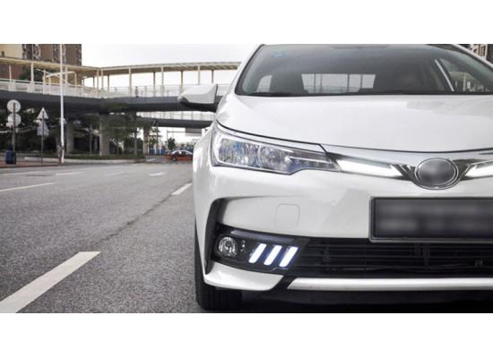 ДХО для Toyota Corolla 7 2018-н.в. (фото)