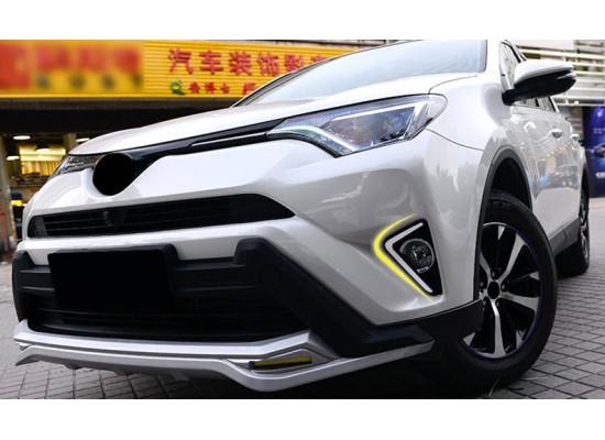 ДХО для Toyota RAV 4 2015-н.в. (фото)