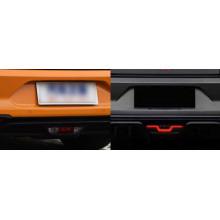 Задние габариты (ДХО) + доп стоп сигнал + доп фонари заднего хода для Ford Mustang 6 Рестайлинг 2017-н.в. (фото)