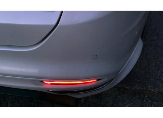 Задние габариты (ДХО) + доп стоп сигнал + доп поворотники для Ford Mondeo 5 2014-н.в. (фото)