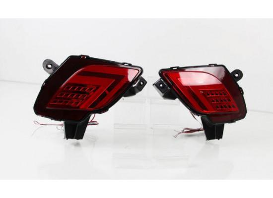 Задние габариты (ДХО) + доп стоп сигнал + доп поворотники для Mazda CX-5 Дорестайлинг и Рестайлинг 2011-17 (фото)
