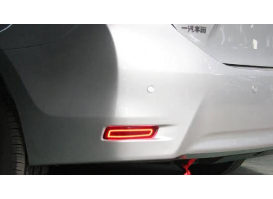 Задние габариты (ДХО) + доп стоп сигнал + доп поворотники для Toyota Corolla 6 2012-16 (фото)