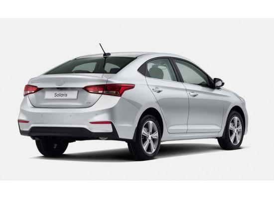 Задние габариты (ДХО) + доп стоп сигнал для Hyundai Solaris 2 2017-н.в. (фото)