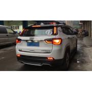 Задние габариты (ДХО) + доп стоп сигнал для Jeep Compass 2 2017-18