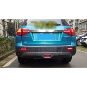 Задние габариты (ДХО) + доп стоп сигнал для Suzuki Vitara 2 2014-18 Вариант 1
