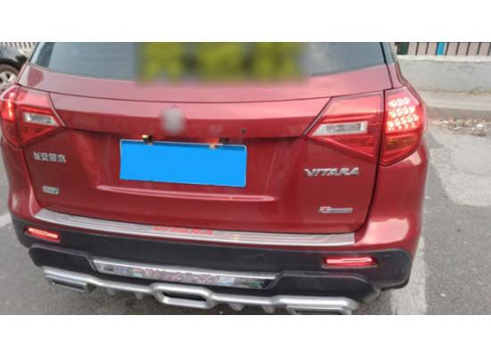 Задние габариты (ДХО) + доп стоп сигнал для Suzuki Vitara 2 2014-18 Вариант 2 (фото)
