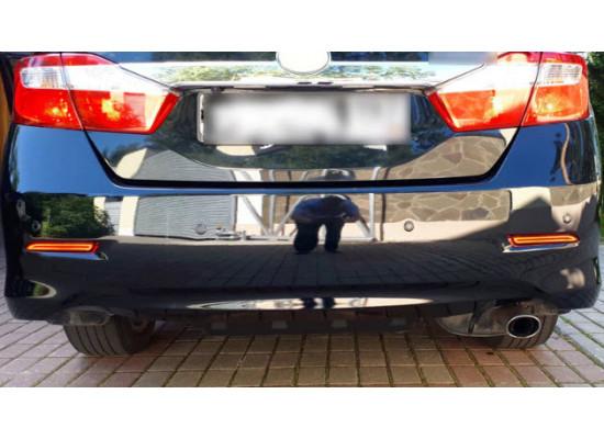 Задние габариты (ДХО) + доп. стоп сигналы Toyota Camry V50 2011-2014