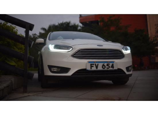 Фары для Ford Focus 3 2014-19 рестайлинг Вариант 3 (фото)