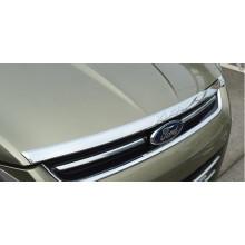 Хромированная накладка на капот для Ford Kuga 2 2013-16 (фото)