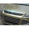 Хромированная накладка на капот для Ford Kuga 2 2013-16