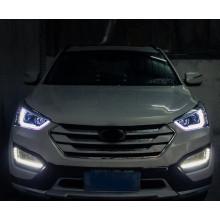 Фары для Hyundai Santa Fe 3 2012-16. Вариант 2 (фото)
