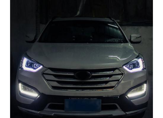 Фары для Hyundai Santa Fe 3 2012-16. Вариант 2