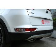 Хромированные накладки на задние ПТФ для Kia Sportage 4 2016-н.в.