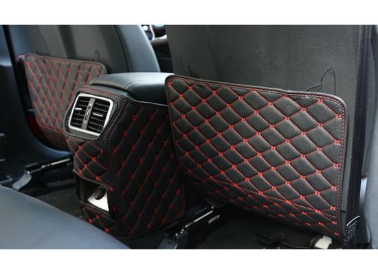 Кожаные защитные накладки на спинки передних сидений для Kia Sportage 4 2016-н.в.