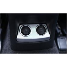 Накладка на панель прикуривателя и зарядки в подлокотнике для Kia Sportage 4 2016-н.в. (фото)