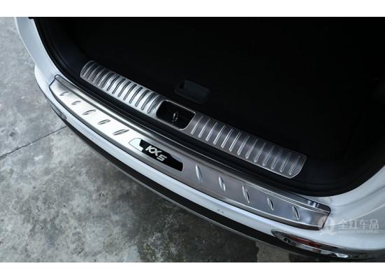 Накладки на задний бампер и в проем багажника для Kia Sportage 4 2016-н.в. (фото)