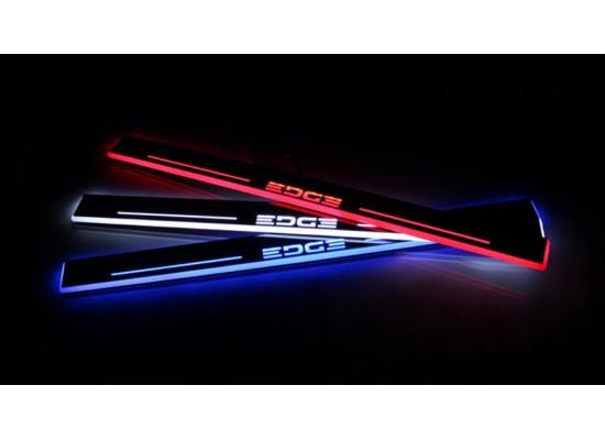 Накладки на пороги LED для Ford Edge