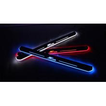 Накладки на пороги LED для Ford Fiesta