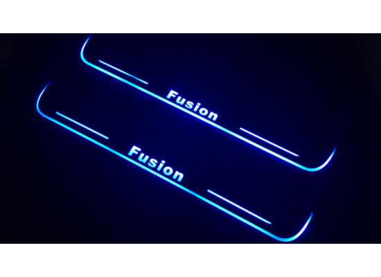 Накладки на пороги LED для Ford Fusion