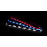 Накладки на пороги LED для Jaguar XF