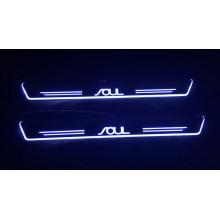Накладки на пороги LED для Kia Soul