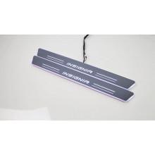 Накладки на пороги LED для Opel Insignia
