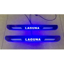 Накладки на пороги LED для Renault Laguna