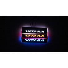 Накладки на пороги LED для Suzuki Vitara