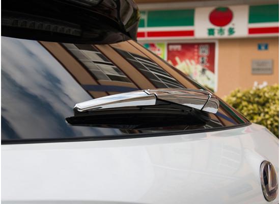 Хромированная накладка на заднюю щетку для Lexus RX 4 2015-н.в. (фото)