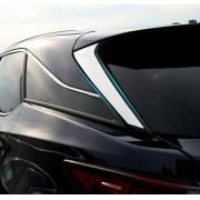Хромированные накладки на стекло крышки багажника для Lexus RX 4 2015-н.в.