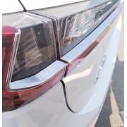 Хромированные накладки на задние фонари для Lexus RX 4 2015-н.в.